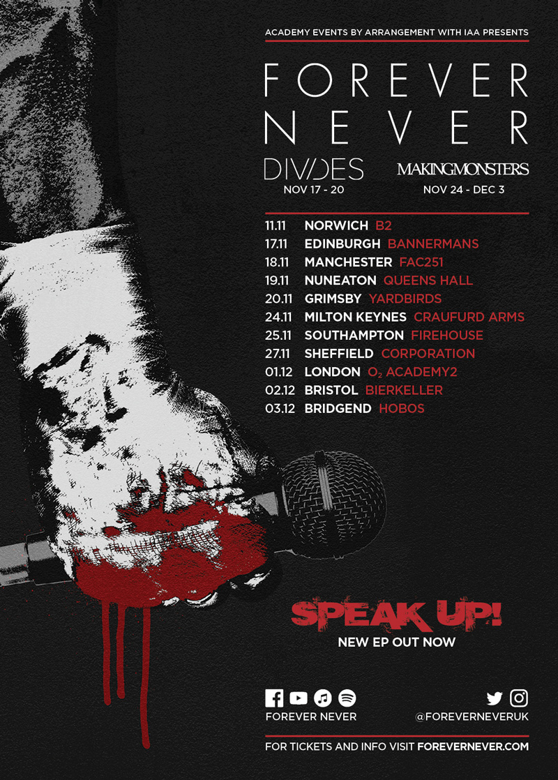 Forever Never Speak Up Tour